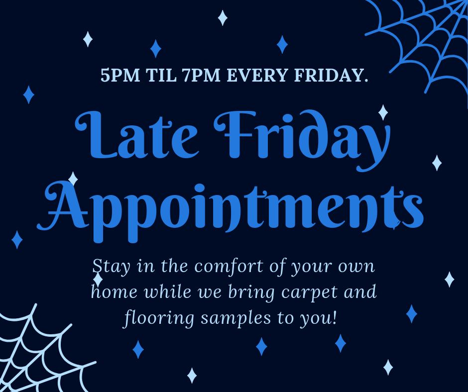 Late Friday Appointments
